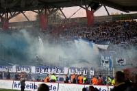 1. FC Union - Hertha BSC: Mächtig Rauch im Spiel