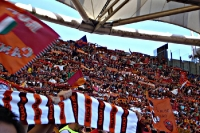 AS Roma, supporters in Stadio Olimpico, Italia