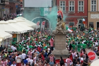 Croatia verus Ireland, before the match in Poznan, Euro 2012