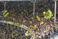Hertha BSC vs. Borussia Dortmund, away sector