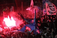 pyrotechnics, supporters of TSV 1860 München (Munich)