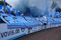 Smoke and flags: FC Hansa Rostock away in Münster