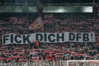 Strong protest against the German Football Association