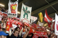 supporters of RAEC Mons, Stade Charles Tondreau