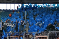 Ultras Karlsruher SC on tour in Bochum