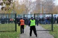nach dem Spiel BFC Dynamo - Tennis Borussia Berlin