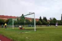 Elfmeterschießen im Berliner Pokalhalbfinale 2013
