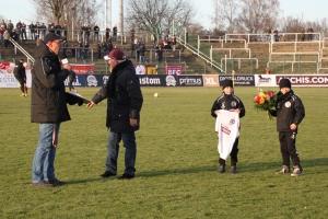 Frank Terletzki wird geehrt