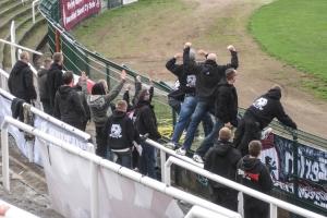 Heimspiel des BFC Dynamo im April 2010