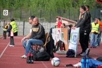 Trainergespann und Betreuer des BFC Dynamo