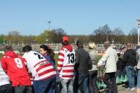 Fans von Optik Rathenow im Sportforum beim BFC Dynamo