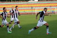 Jubel beim 1:0 des BFC Dynamo