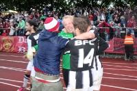 Riesige Freude über den Berliner Pokalfinaleinzug