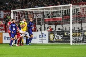 Spielszenen Bonner SC bei RWE 31-08-2018
