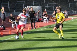 Sandro Plechaty BVB U23 gegen RWE Spielszenen 20-09-2020