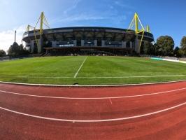 Stadion Rote Erde 2020 BVB U23 gegen RWE 20-09-2020