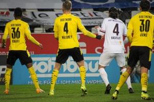 Rot-Weiss Essen vs. Borussia Dortmund Spielszenen 17-03-2021