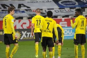 Richmond Tachie Rot-Weiss Essen vs. Borussia Dortmund Spielszenen 17-03-2021
