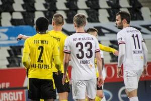 Traore, Endres, Engelmann: Rot-Weiss Essen vs. BVB U23 17-03-2021