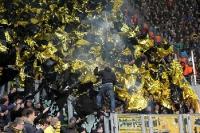 Borussia Dortmund bei Dynamo Dresden
