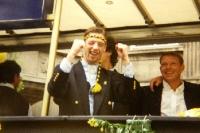 Steffen Freund feiert den Meistertitel mit Borussia Dortmund