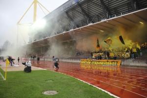 Pyroshow Ultras von die Amateure gegen RWE