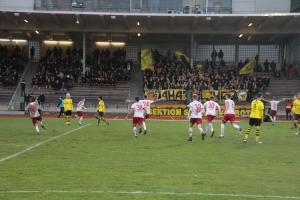 Spielsezenen BVB U23 gegen RWE