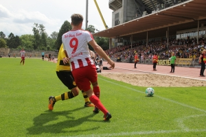 Spielszenen BVB U23 gegen Rot Weiss Essen