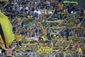 Ultras von die Amateure BVB U23 in Essen 2019
