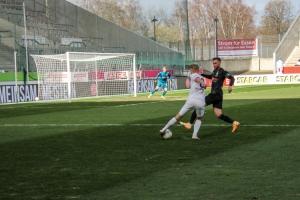 Cedric Harenbrock Rot-Weiss Essen vs. Borussia Mönchengladbach Spielszenen 20-03-2021