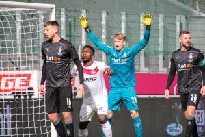 Daniel Heber Rot-Weiss Essen vs. Borussia Mönchengladbach Spielszenen 20-03-2021