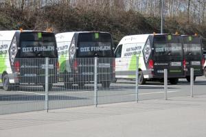 Borussia Mönchengladbach Mannschaftsbusse