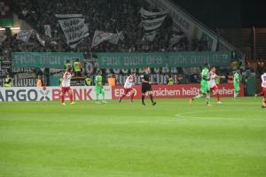 BMG Fans Protest gegen den DFB