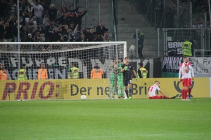 Spielszenen Mönchengladbach in Essen DFB Pokal
