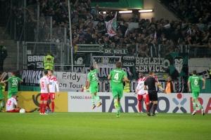 Stimmung Borussia Mönchengladbach in Essen