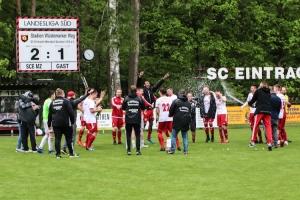 SC Eintracht Miersdorf/Zeuthen feiert den Aufstieg