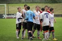BSG Wismut Gera feiert Sieg gegen Schott Jena
