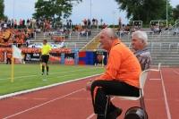 Trainer Udo Korn und Hermann Just bei der BSG Wismut Gera