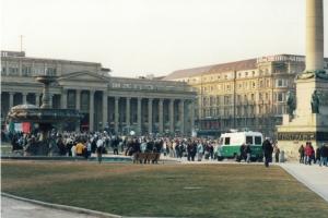 Celtic Fans in Stuttgart 2003