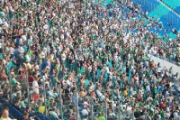 Der FC Sachsen Leipzig im Zentralstadion, vor der Zeit von RB Leipzig und Insolvenz