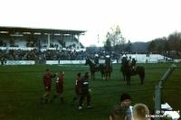 FC Sachsen Leipzig im Alfred-Kunze-Sportpark in Leipzig-Leutzsch, 1994/95