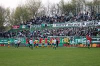 BSG Chemie Leipzig vs. 1. FC Lokomotive, 0:1
