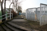 Gästeblock des Alfred-Kunze-Sportparks