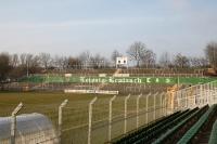 Stehplätze der Ultras hinter dem Tor, Alfred-Kunze-Sportpark