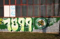 Tradition seit 1899, Graffiti am Alfred-Kunze-Sportpark