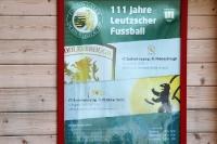 Ansetzungsplakat aus dem Jahre 2010, 111 Jahre Fußball in Leutzsch