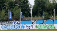 Schalke 04 vs. Chemie Leipzig 6:1 Banner