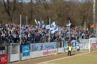 Fans / Ultras des Chemnitzer FC zu Gast beim SV Babelsberg 03 im Karli, 03. März 2012