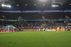 Spielszenen Braunschweig in Duisburg 13-10-2017