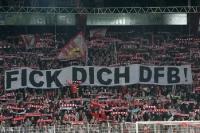 Solidarität von Seiten der Ultras / Fans des 1. FC Union Berlin